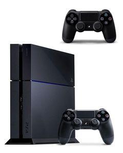 Sony PlayStation 4 - Region 2 Japan - 500 GB - Black + DualShock 4 Wireless Controller - Black