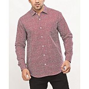 DenizenMutlicolor Cotton L/S Woven Shirt Nfl Bengals Orange Special Online Price