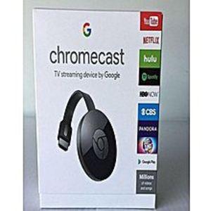 GoogleChromecast - Generation 2 - Black