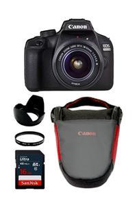 CANON 4000D + 18-55 III + 16 GB CARD + FILTER + V BAG