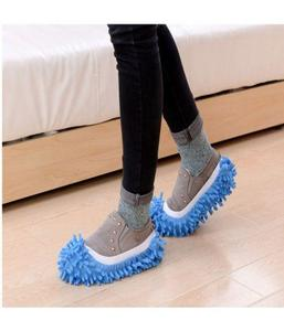 Dust Cleaner Lazy Slippers Home Mop Sweep Floor cleaning duster cloth housework Lazy Soft Slipper Shoes