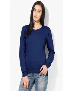 Navy blue Colour SweatShirt for Her