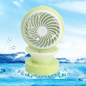 Mini Portable Air Conditioning Fan USB Mist Spray Home Office