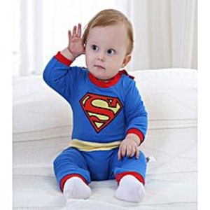Gifts n Toys Superman Baby Rompers Jumpsuit Infant