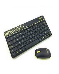 Mk240 Nano - Wireless Keyboard & Mouse Combo - Black