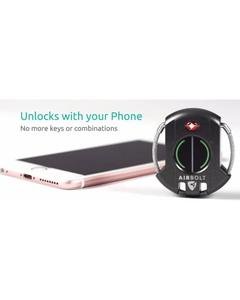 Airbolt Bluetooth enabled Smart Lock - Grey