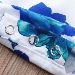 MissFortune Newborn Baby Girls Sleeveless Sloping Shoulder Floral Print Romper Jumpsuit