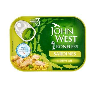 Boneless Sardines In Olive Oil 120g