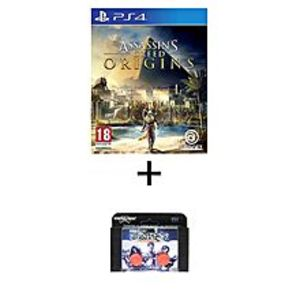 Sony PLAYSTATION 4 DVD Assassin's Creed Origins PS4 GAME PLUS KONTROL FREEK