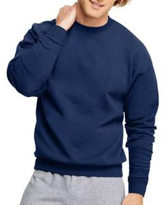 Men's Simple Blue Sweatshirt's Size S M L XL