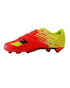 Performance Junior Kick Soccer Shoe - Orange & Yellow