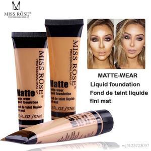 MISS ROSE Face Matte Concealer Liquid Foundation – BEIGE 02