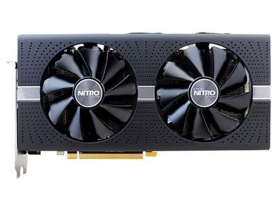 Sapphir Radeon Nitro+ RX 570 8GB GDDR5 2xHDMI(VR Friendly),1xDVI-D,2xDP with Backplate PCI-E Graphics Card