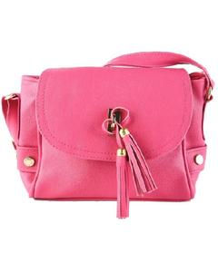 Magenta Cross Body Ladies Hand Bag