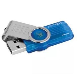 Kingston 4 GB Data Traveler USB With Fast Data Transfer