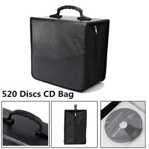 520 Disc CD DVD Bluray Storage Holder Solution Binder Book Sleeves Carrying Case
