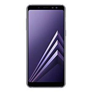 "SamsungA8 2018 - 5.6"" Infinity Display - FHD+ - 4GB RAM - 64GB ROM - 16/16/8 MP - Orchid Grey"