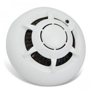 H D 1080P Sp y IP Cam era Smoke Detector Mini WiFi