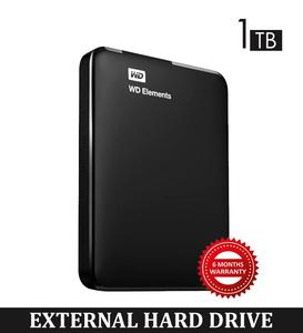 1TB USB3.0 External Hard Drive With Warranty