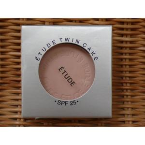 Etude twin Cake Face Powder Foundation Base and Refill Pack