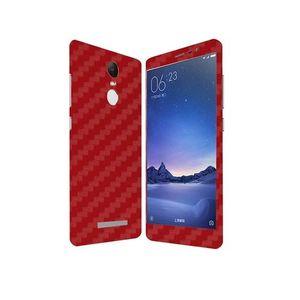 Xiaomi Redmi Note 3 Red Carbon Fiber Texture Skin
