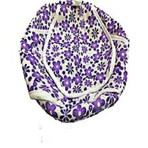 Watch & Ring Shop Cotton Roti Basket With Printed Cloth