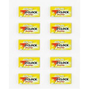 Smartoo Pack of 10 - 7 OClock Sharp Edge Razor Blades