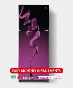 PEL INVERTER CURVED GLASS DOOR Series Top Mount Refrigerator - PRINVOGD 2350 - 240 L - Purple Blaze