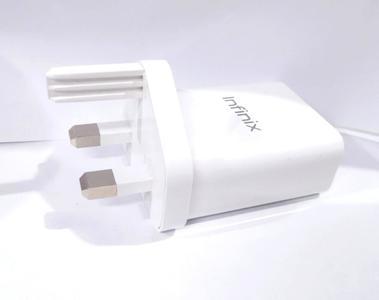 Infinix Original Flash Charger CQ-24YX- 3A -White