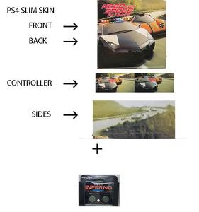 PS4 SLIM SKIN PS4 SLIM SKIN NEED FOR SPEED PAYBACK PLUS KONTROL FREEK