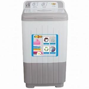 Super Asia Washer SA-270, Fast Wash, Full Plastic Body Single Tub, Grey Color, 10kg Capacity, 99.9% Copper, Shock & Rust Proof, Energy Saver & Gentle Wash