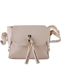 Grey Cross Body Ladies Hand Bag