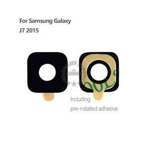 Samsung J7  Camera Lense 100% Made Of Glass +Free 1x Double Tape