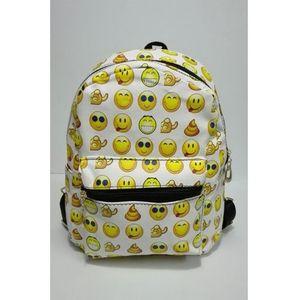 Emoji Backpack Bag For Girls