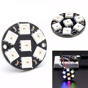 Produino 7-Bit WS2812 5050 RGB LED Ring Round Decoration Bulb For Arduino