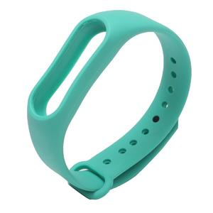 Replacement Silicone Wrist band WristBand Bracelet Strap For Xiaomi Mi Band 2 Teal