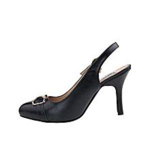 Castillo Alla ModaBlack - Leather - Coat Shoe for Women - C1