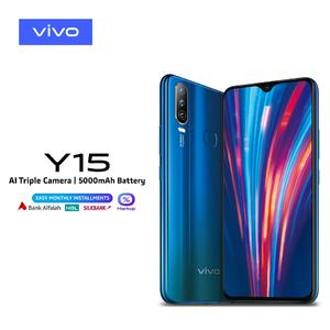 Vivo Y15 - 4GB RAM - 64GB ROM - 6.3  Display - 5000 mAh Battery