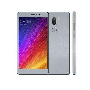 Xiaomi Mi 5s Plus 3M Silver Brushed Metal Texture Skin