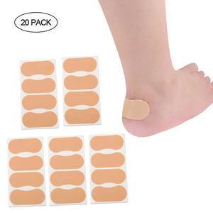 Heel Stickers - Heel Protectors Foam Heel Pads Cushion High Heel Protectors for Women Waterproof Wear-resistant Heel Insole Sticker (20 Pack 6.2*2.7cm)