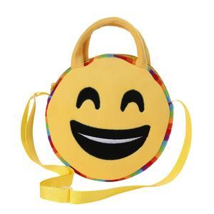 Happydeal Cute Emoji Emoticon Shoulder School Child Bag Backpack Satchel Rucksack Handbag