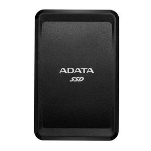 ADATA 1TB SC685 - Up to 530 MB/s - 3D NAND USB Type-C, USB 3.2 Compact External SSD Black ASC685-1TU32G2-CBK