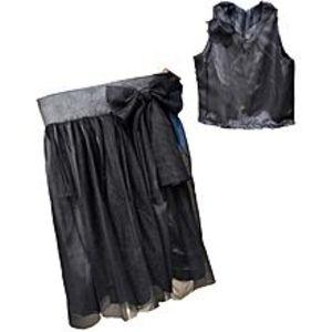 FashionValleyKids maxi dress for girls-Black