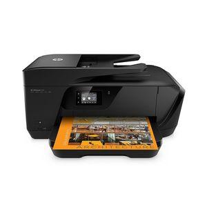 HP 7510 A3 - Officejet - Wide Format - Wireless All-in-One Printer - Black