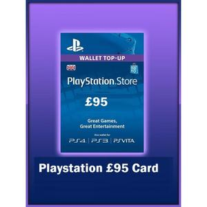 PLAY STATION GIFT CARD 95 UK
