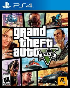 GTA V (Region All) Grand Theft Auto V - PS4