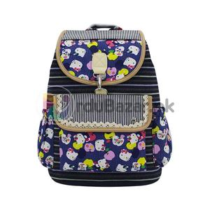 Hello Kitty Style Bag - 5 Pockets Women, Ladies & Girls Backpack