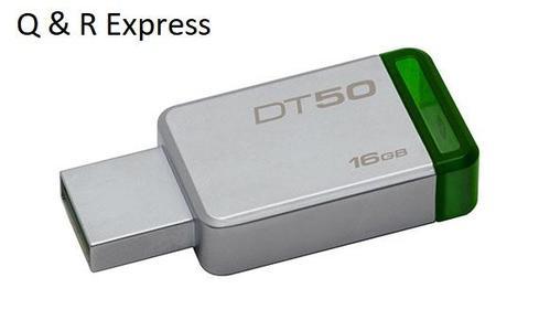 Kingston USB Flash Drive 16 Gb USB - Green