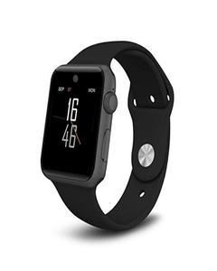 Lemfo LF07 Crown Switch Bluetooth Smart Watch -Black
