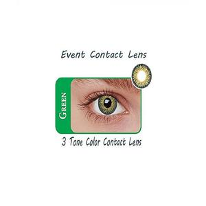 Event 3 Tone Contact Lenses - Green